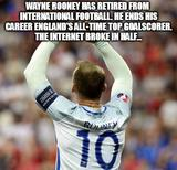 Rooney has retired memes
